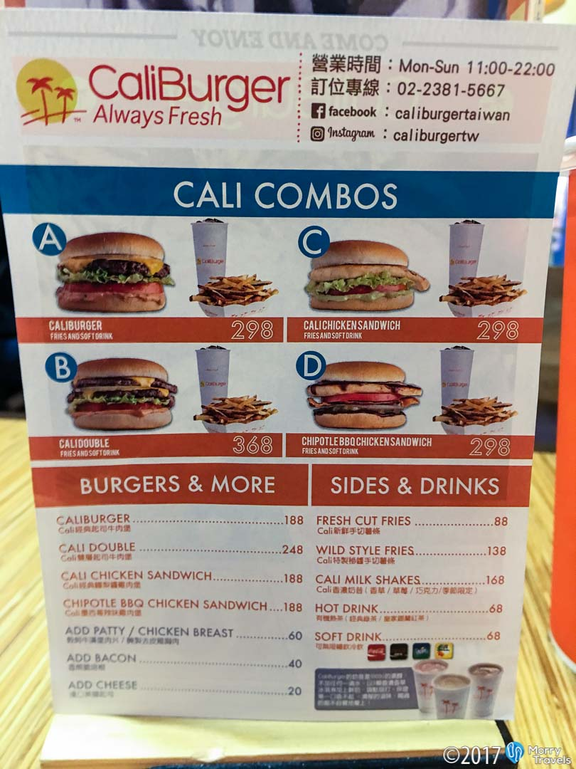In-N-Out in Taiwan: Caliburger
