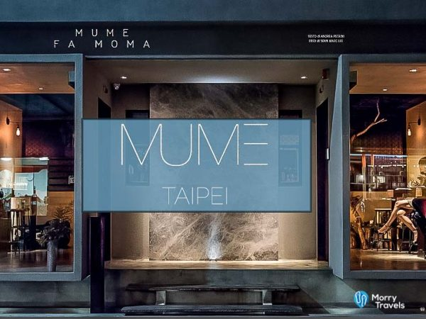 MUME TAIPEI: ASIA'S BEST 50 RESTAURANTS