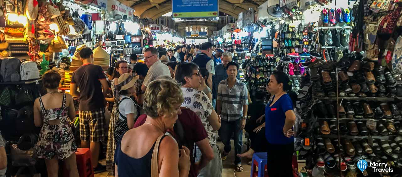 Top Things to Do in Ho Chi Minh City Vietnam   The Ultimate Guide   Shopping at Ben Thanh Market