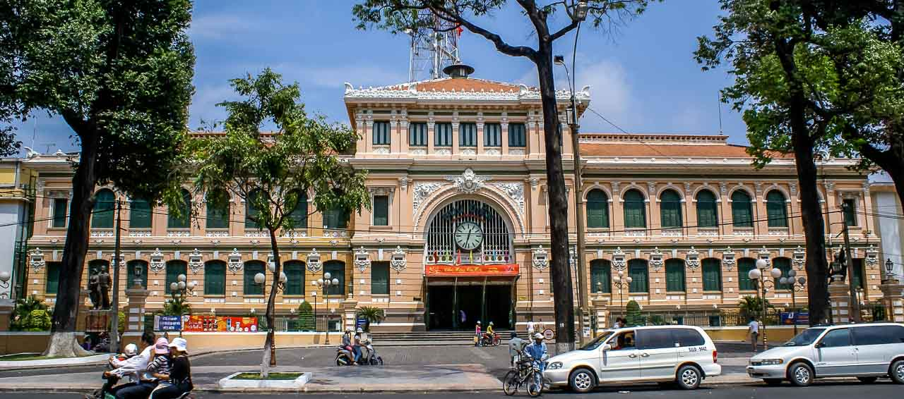 Top Things to Do in Ho Chi Minh City Vietnam | The Ultimate Guide | Central Post Office