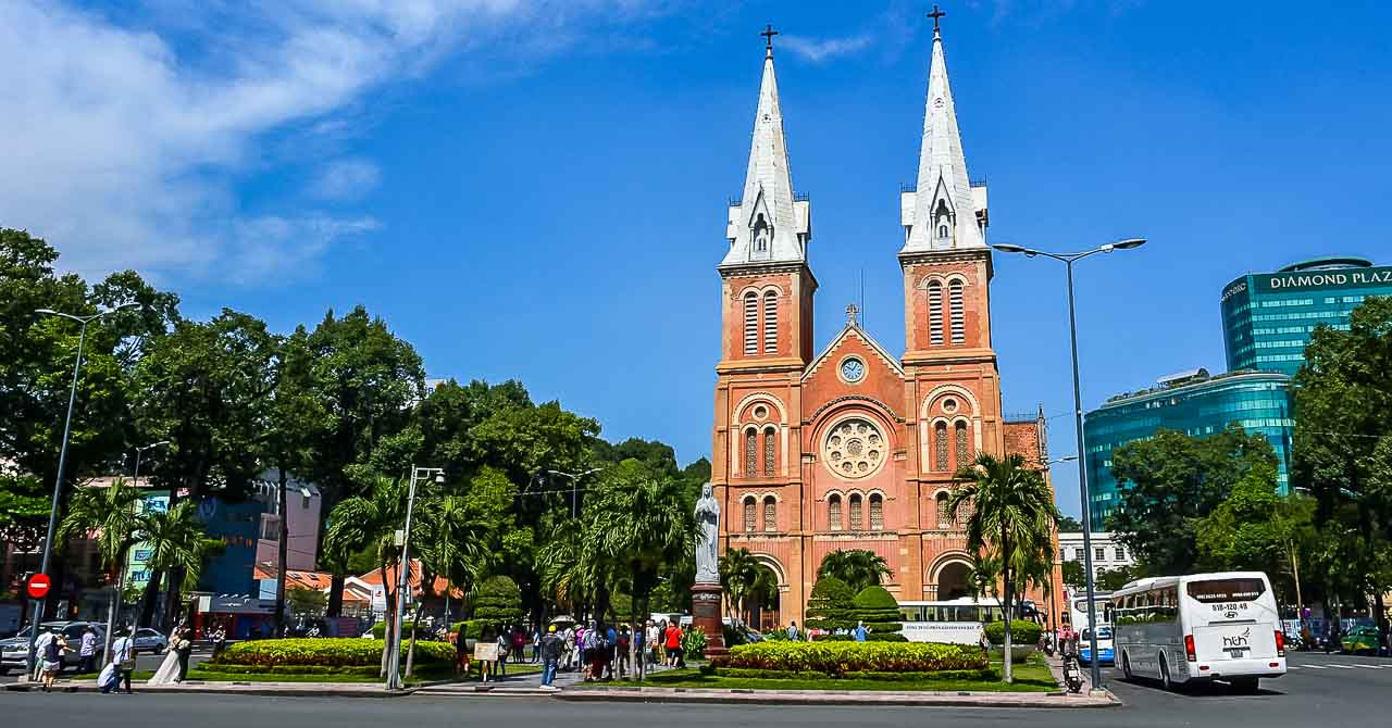 Top Things to Do in Ho Chi Minh City Vietnam | The Ultimate Guide | Notre Dame Cathedral of Saigon