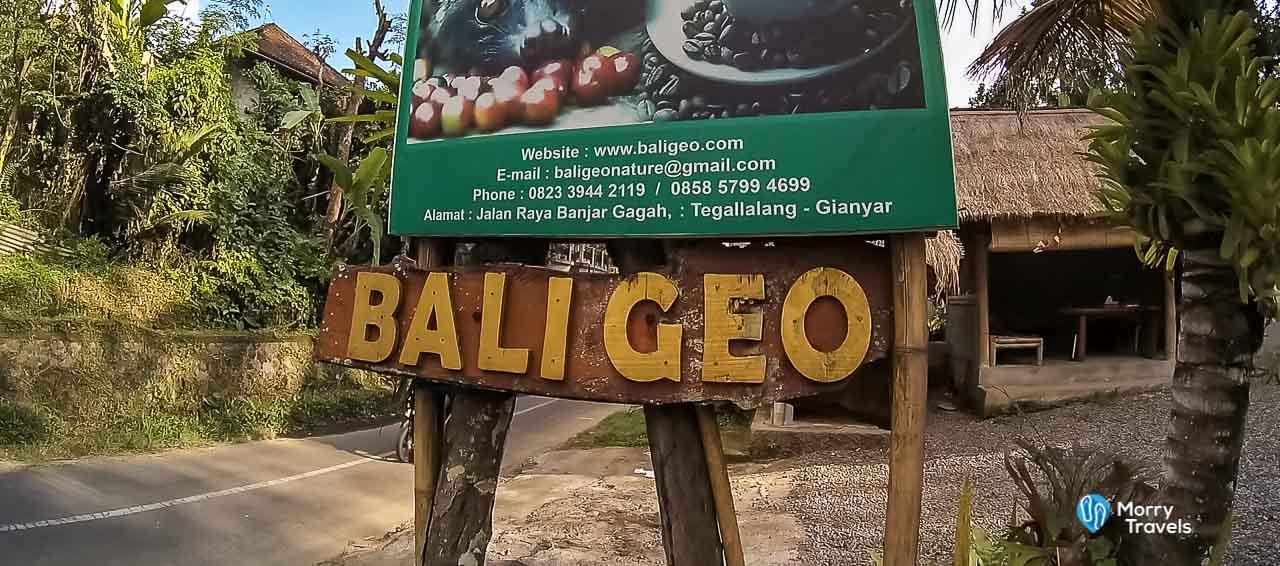 Bali Geo Coffee Plantation