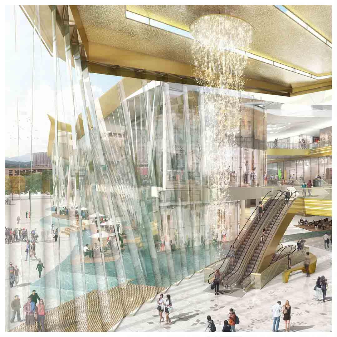 IconSiam Bangkok Thailand Newest & Largest Shopping Mall Mangolia Residences Mandarin Oriental