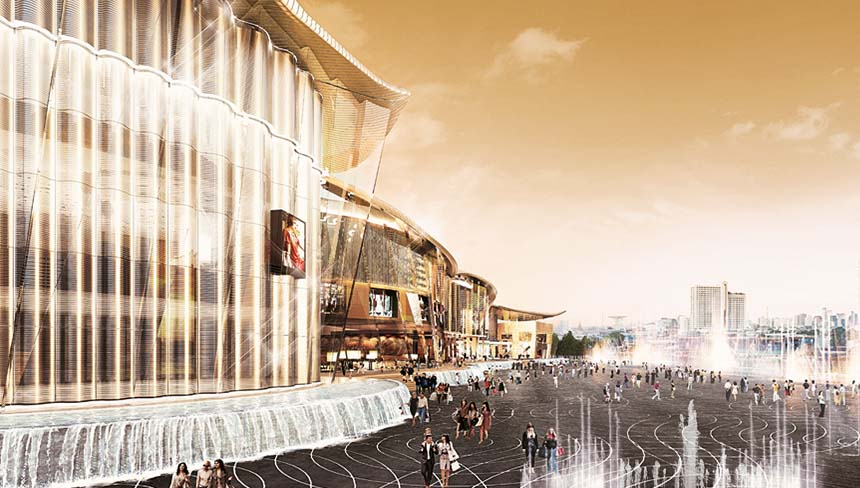IconSiam Bangkok Thailand Newest & Largest Shopping Mall Mangolia Residences Mandarin Oriental