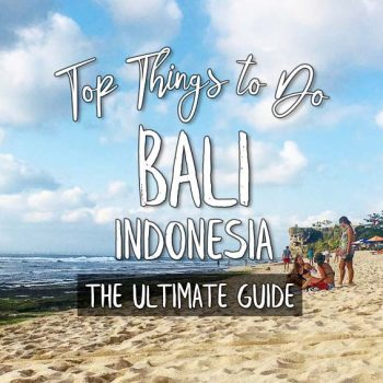 Top Things to Do In Bali | The Ultimate Guide | Asian-American Solo Travel Blog