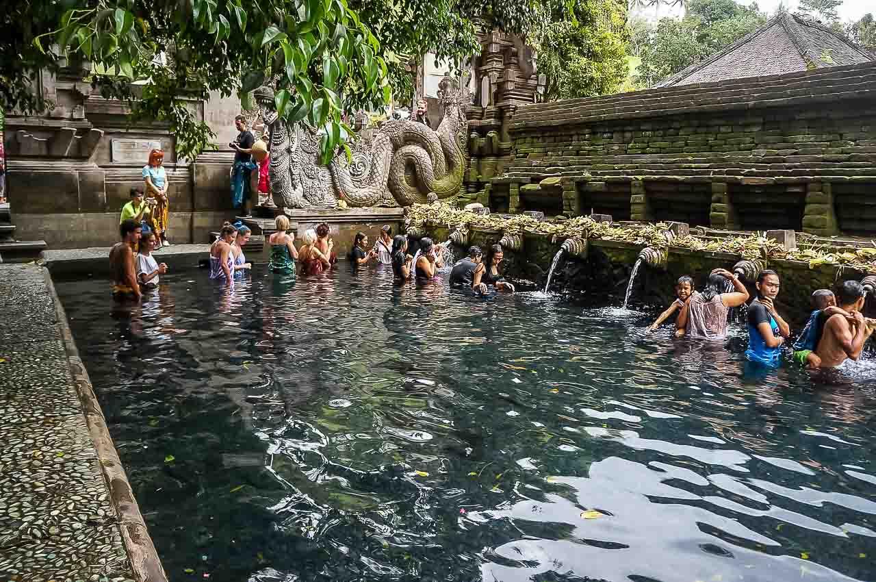 Tirta Empul Temple Water Temple Ubud Bali