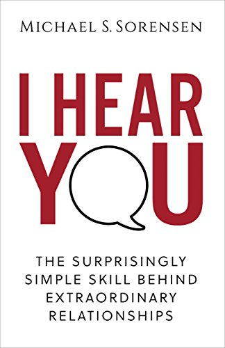 I Hear You: The Surprisingly Simple Skill Behind Extraordinary Relationships | Best Books to Read While Traveling | Morry Travels