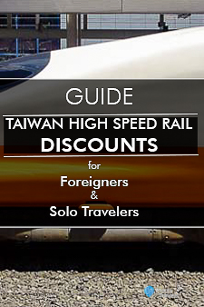 Taiwan High Speed Rail Discounts Pinterest