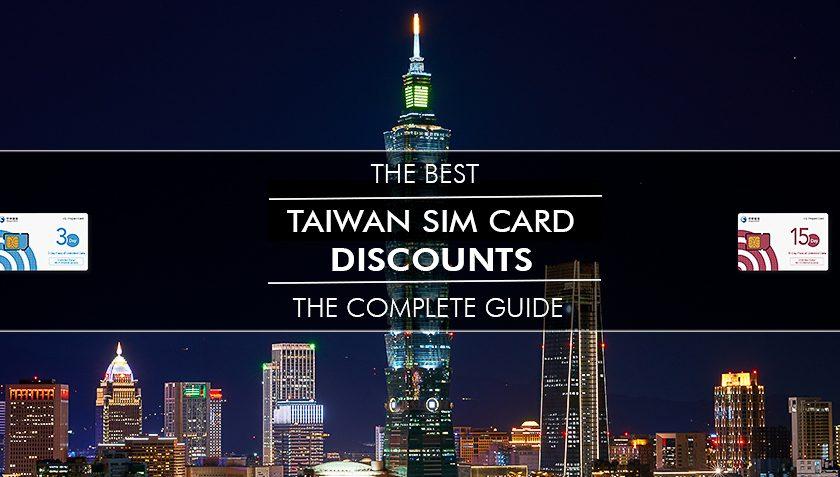 Morry Travels Taiwan Sim Card Discounts Prepaid Data Hotspot