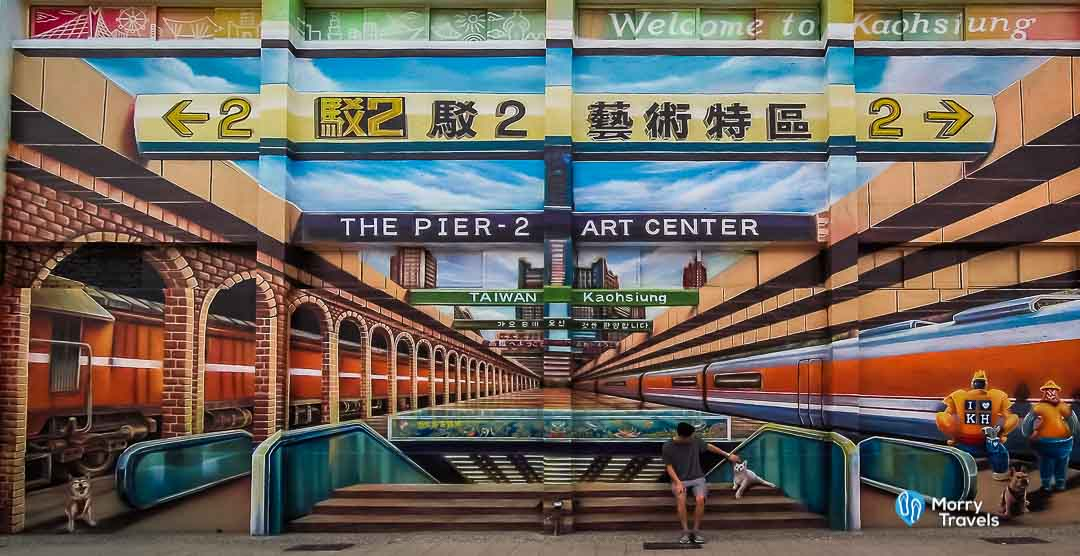Morry Travels - Top Places to Visit in Kaohsiung - Pier 2 Art Center