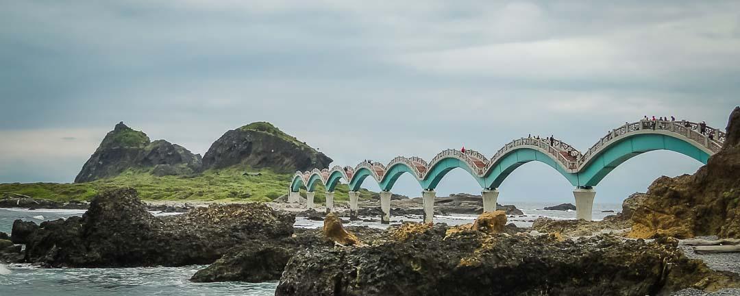 Morry Travels Taitung SanXianTai Arch Bridge